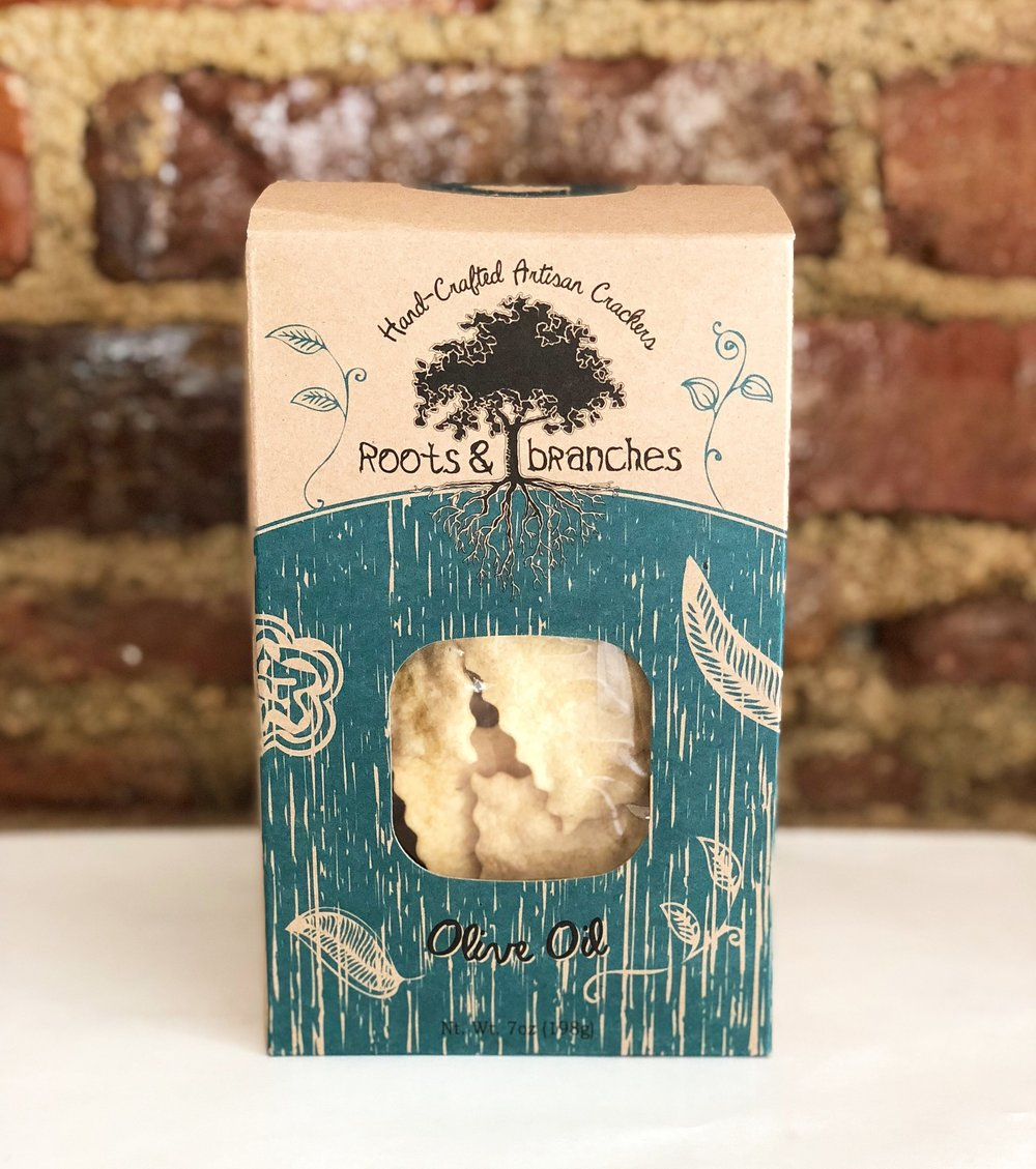 Local Roots & Branches Crackers 7 oz